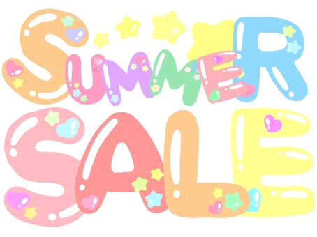 Summer sale logo