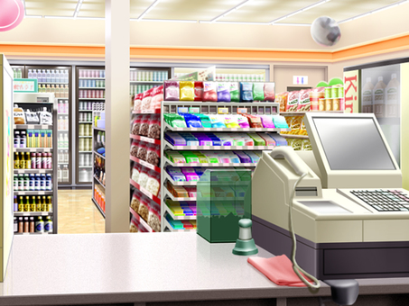 Inside convenience store 2