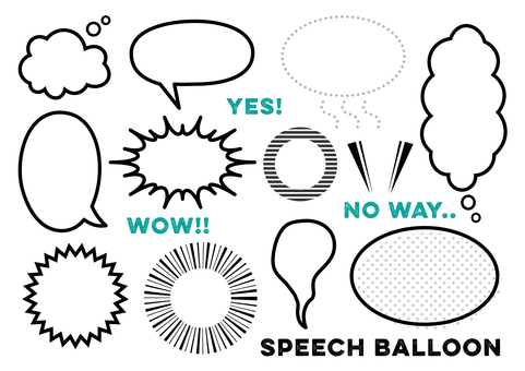 Speech-balloon_ Speech Bubble