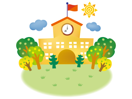 Background_ School Building 2