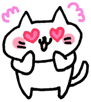 A cat who falls in love