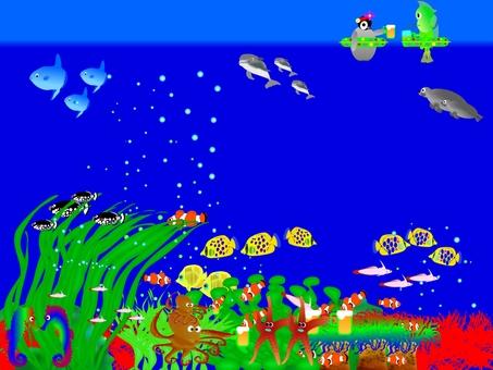 Add seal and parent to aquarium
