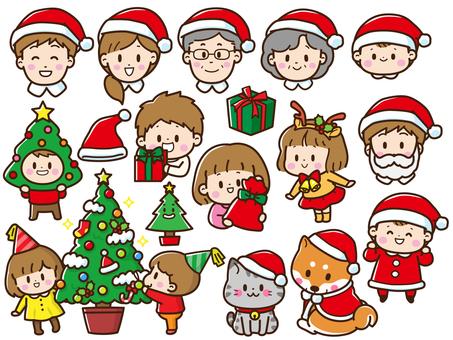 ファミリークリスマスセット