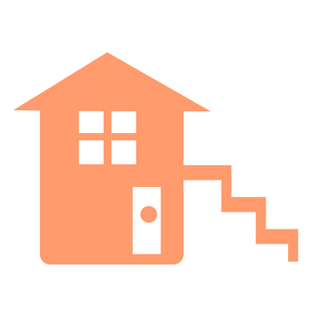 Outer stairs home (Orange)