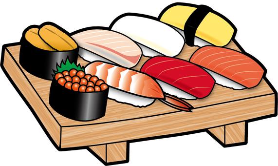 Nigiri sushi 8 pierce