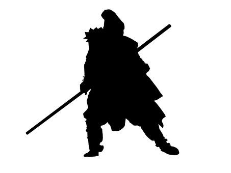 Sengoku warlords silhouette