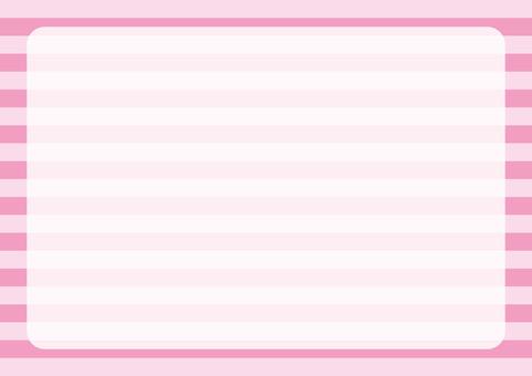 Border Frame Pink