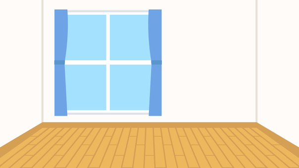 Simple House Flooring Room Background Wide