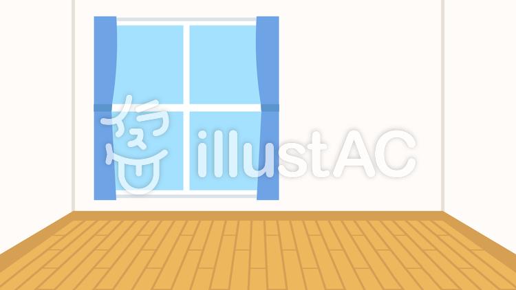 簡単な家 フローリング部屋 背景 ワイドイラスト No 無料イラストなら イラストac