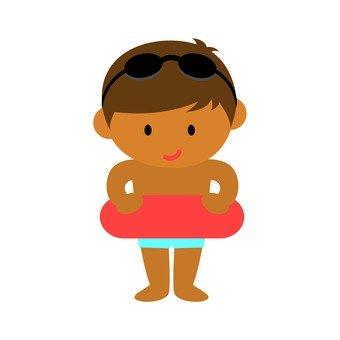 Child tanning