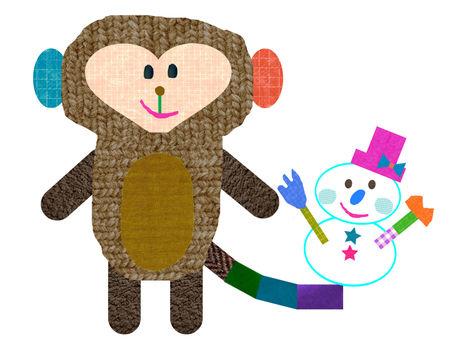 Monkeys and snowmen