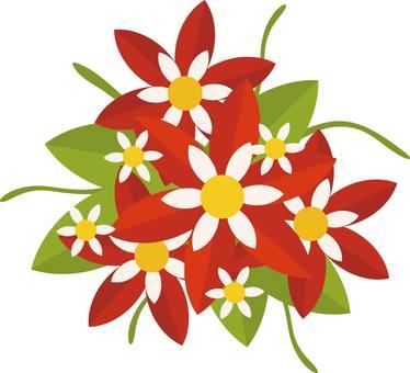 Flower bouquet proposal