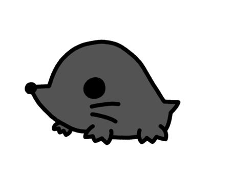 Moles black