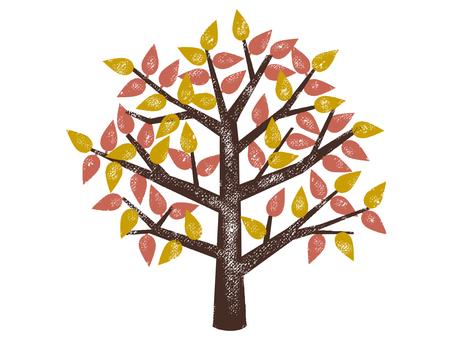 Autumn tree 001