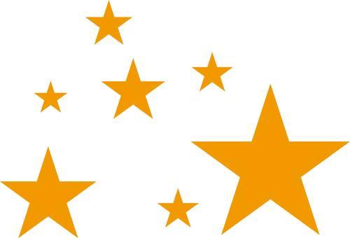 Star, ☆