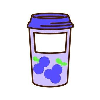 Yogurt drink (blueberry)