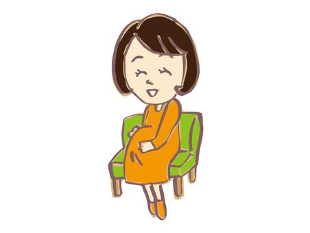 Pregnant woman 2-2