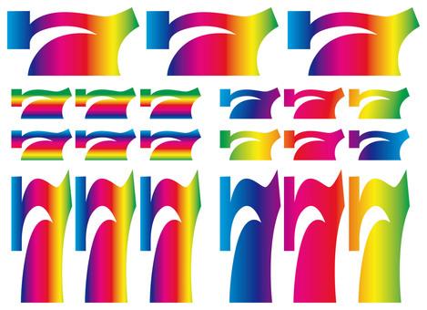777 Lucky Seven (Rainbow Rainbow)