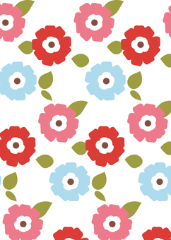 Pattern (Scandinavian flowers)