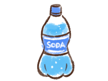 Crayon series [soda / bottle]