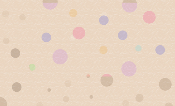 Card (business card) size _ Polka dot