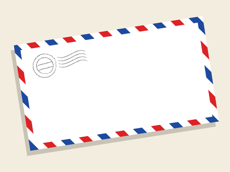 Airmail frame simple
