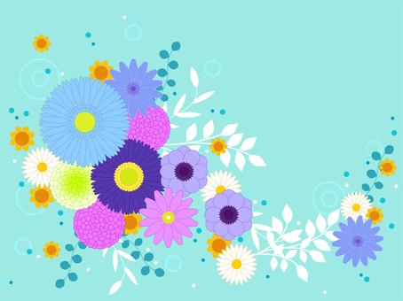 꽃 프레임 05