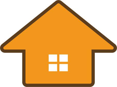 Home · Silhouette (Orange)