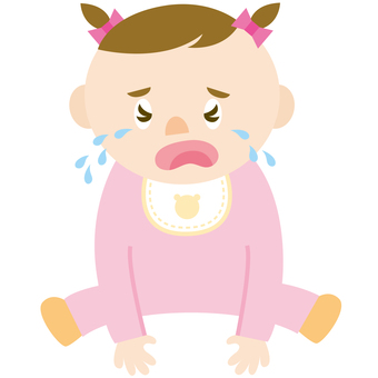 Baby crying (girls)