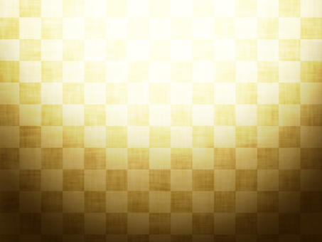Checkered gold background