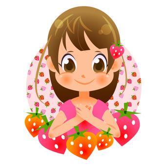 Strawberries and girls