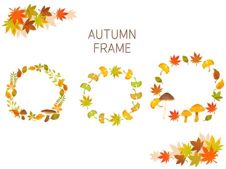 Autumn frame set 01