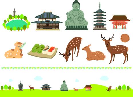 奈良の素材
