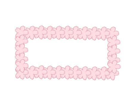 Sakura frame side