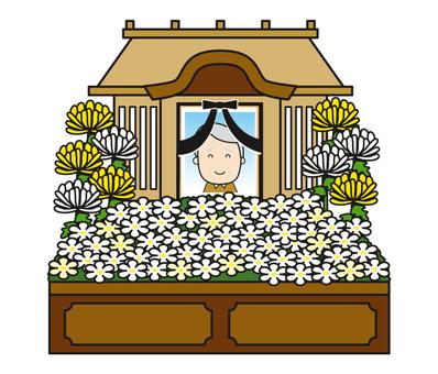 Funeral flow _ funeral ceremony - altar