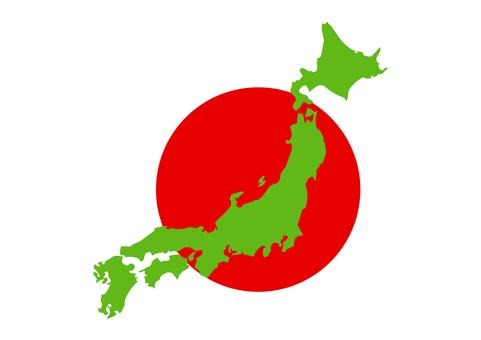 日本地圖06的插圖