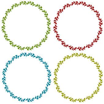 Thumb circle (4 colors)