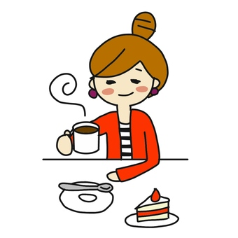 Coffee woman