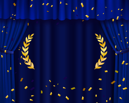 Blue curtain (for ranking)