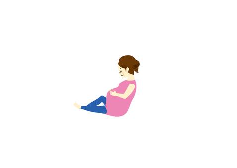 Pregnant woman 01