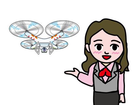 Sales staff staff (3) drone