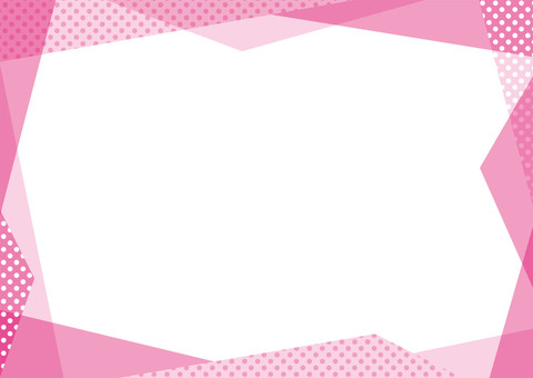 Pink random frame ☆ various cards etc.