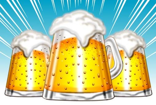 Beer toast A