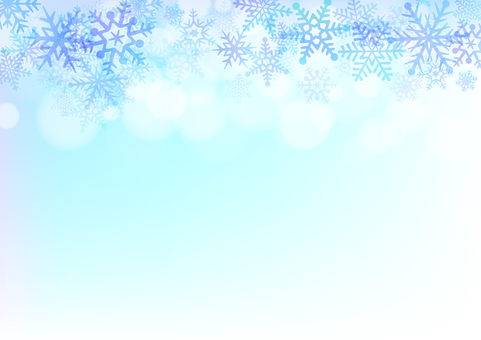 【Ai, png, jpeg】 Winter Material 54