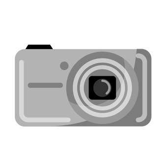 Digital camera (gray)