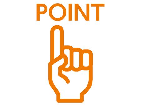 Point finger icon