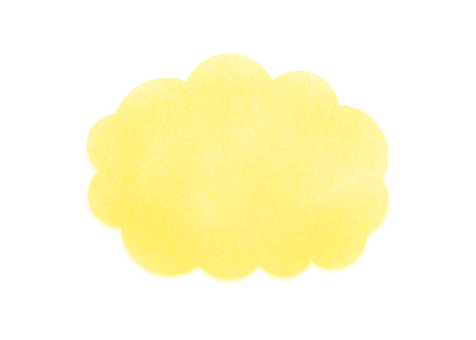 Cloud frame (yellow)