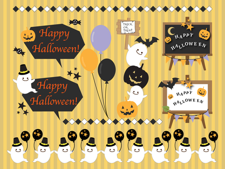 Halloween material set _ 01