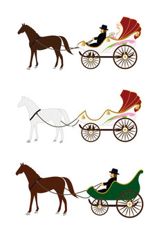 Carriage (wedding carriage)