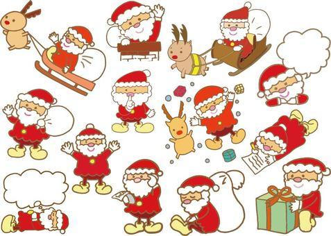 Santa's Large Set